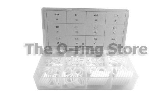 OSK O-Ring Kit 200 Piece 12 Sizes FKM//Viton 75 Duro Chemical /& Heat Resistant