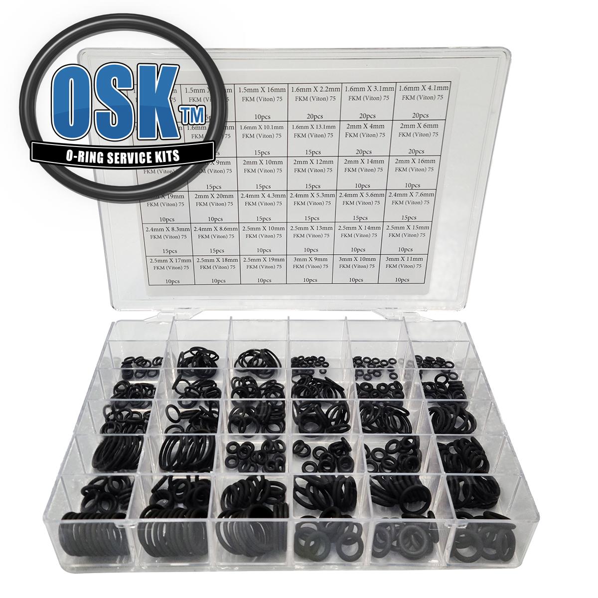 OR16X2VIT Viton 75 Shore O Ring 16x2mm Pack FREE UK POST 1
