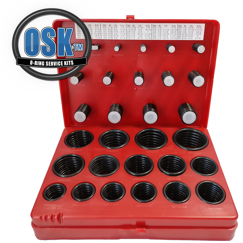 OSK Standard O-Ring Kit EPDM FDA 382pc 30 Sizes EPDM O-Ring Kit